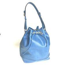 Louis Vuitton Epi Puchino M44105 drawstring shoulder bag blue used 1543-10Z5
