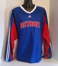 Adidas Clima365 NBA Detroit Pistons Long Sleeve Shooting Shirt Mens Size 3XLT