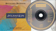 RICHARD BURMER Invention (CD 1992) Jazz Album American Grammaphone
