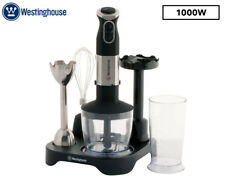 Westinghouse 1000W Stick Mixer - Stainless Steel