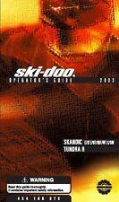 Ski-Doo owners manual book 2003 Tundra R & Skandic LT / LT E / WT / SWT / WT LC