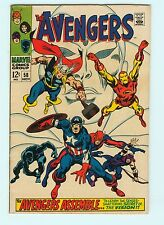 Avengers #58 7.0 FN/V Marvel Comics Silver Age 2nd Appearance Vision Origin