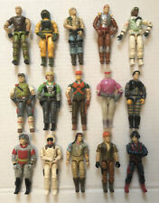 Vintage GI Joe Lot of 15 Action Figures Hasbro 1980's era See Pictures