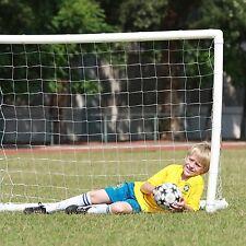 8'x5' Sports Inflatable Soccer Goal W/Net Pump Portable Indoor Outdoor Backyard
