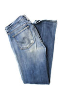 Citizens of Humanity Womens Low Rise Ava Straight Leg Jeans Blue Cotton Size 27