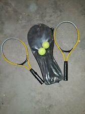 Kinder Tennisschläger Set mit 2 Tennisbällen