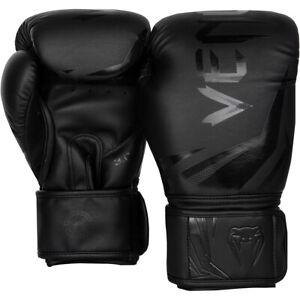 Venum Challenger 3.0 Training Boxing Gloves - Black/Black