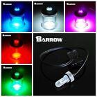 Barrow 4PIN 1/4G LED UV light For EK/BP/CZ T-VIRUS Cooling Water Tank stoper RGB