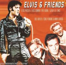 ELVIS PRESLEY & V/A - Elvis & Friends (UK/EU 18 Tk CD Album)