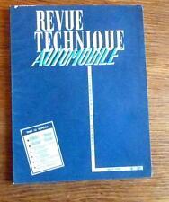 Revue Technique Automobile  ETUDE RENAULT ONDINE   FLORIDE  Ciroen 2 cv 4x4