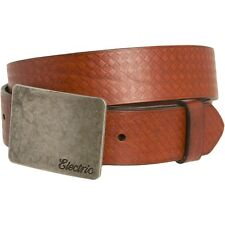 Electric Visual Yeager Leather Belt (34) Brown ED7411204