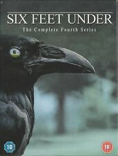 SIX FEET UNDER - Series 4. Peter Krause, Michael C Hall (HBO 5xDVD BOX SET 2005)