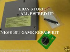 Nintendo NES Cartridge Repair Kit Security Bit Battery Save Game Socket Fix Cart