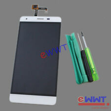 White LCD w/ Touch Screen Unit + Tool for Oukitel K6000 Pro Dual Sim 3GB ZVLQ125