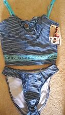 $86 Roxy Logo Tankini Bikini Swimsuit NWT S  Cruise Spring Break!