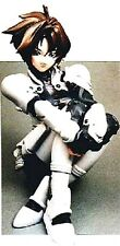 "4""IRIA Anime Version Sitting Resin Model Kit1/8"