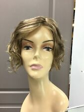 Gabor TOUSLED Lace Front Short Curly Shag Wig, GL11/25 Dark Blonde + HL