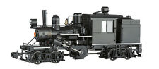 Bachmann G 2 Truck Climax Blk w/White Stripe Sound/DCC Installed #86097 NEW