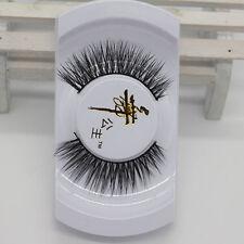 100% Black Mink Soft Real Lashes False Eyelashes Eye Natural