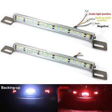 White/Red 30-SMD Bolt-On LED Lamps For License Plate Backup Reverse Brake Lights