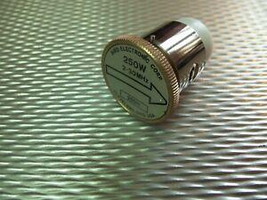 Bird 43 Thruline WattMeter Element 250W 250H 2-30MHz