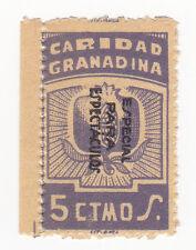 Sello Local Guerra Civil Granada -Cat. No catalogo tipo sofima 67.  ORD:939