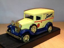 SCHWEPPES SODA WATER - 1933 FORD MODEL A VAN - LIBERTY LC9000 -- 1/25 SCALE MINT