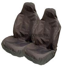 JEEP Renegade - Heavy Duty Black Waterproof Car Seat Covers - 2 x Fronts