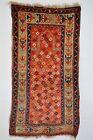 GREAT EAST ANATOLIAN KURDISH PRAYER RUG DATED 1901  AMAZING WOOL STAR PATTERN