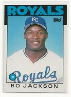 💥1986 Topps Traded #50T Bo Jackson Kansas City Royals RC Rookie NM-MINT💎