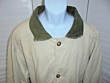Canvas Flannel Lined Tan Barn Jacket Coat Womens 1XLT
