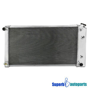 For 1970-76 Monte Carlo 3-Row Core PerFormance Racing Aluminum Cooling Radiator