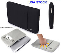 "Laptop Soft Sleeve Bag Case Pouch For Macbook Pro Air MAC white 13"" 15"" 17"" 2015"