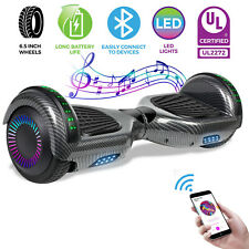 Bluetooth UL2272 Motorized Self Balance Hoverboard Electric Scooter no Bag-Black