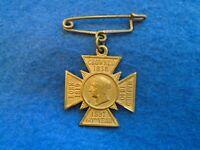 QUEEN VICTORIA DIAMOND JUBILEE MEDAL & PIN, J. NICKLIN & CO, PARISH OF ROYTON