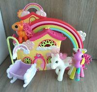 My Little Pony Ponyville Rainbow Dash House & Figure Playset Rarity Toys