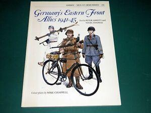 Osprey Men At Arms 131 - Germans Eastern Front Allies 1941-45 - Softback