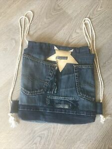 Jeansrucksack Unikat Neu Selbstgenäht 🧵