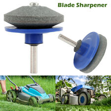 Rotary Lawn Mower Blade Sharpener 50 Mm Garden Tool Sharpener For Power Drills