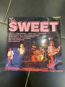 THE SWEET VINYL LP ALBUM CAMDEN RECORD