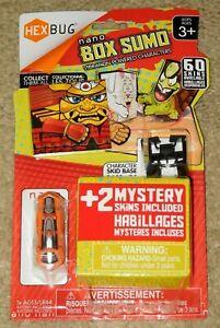 HEXBUG NANO BOX SUMO VIBRATION POWERED + 2 MYSTERY SKINS (New - Sealed)
