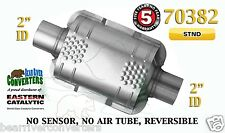 "70382 Eastern Universal Catalytic Converter Standard Catalyst 2"" Pipe 8"" Body"