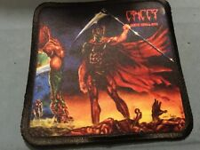 """Cancer Death Shall Rise Sublimated Patch 3""""x3"""" Album Cover Rock Metal"""