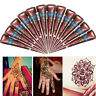 Body Art Paint Natural Herbal Henna Cones Temporary Tattoo Mehandi ink 3 Colors