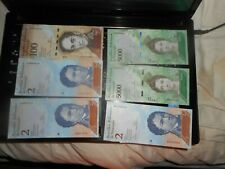 6 paper money fancy serials about unc LOW SERIAL 2004
