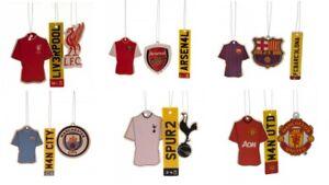 Football Club Arsenal Man Utd 3 pack Air Freshener Official Hanging Gift idea