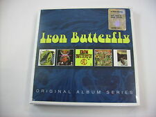 IRON BUTTERFLY - ORIGINAL ALBUM SERIES - 5CD BOX SIGILLATO 2016