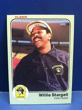 Willie Stargell 1983 Fleer Baseball Card #324 Pittsburgh Pirates MLB National