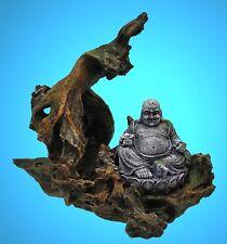 Aquarium Deko 🍀 BUDDHA BAUMHÖHLE 🍀 Wurzel Asien Dekoration Zubehör Höhle