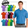 Men Polo Shirt Dri-Fit Golf Sports Cotton T Shirt Jersey Casual Short Sleeve M L